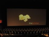<p>This slide, of popcorn, was the only slide shown before movies. 21 July 2007 photo by Howard B. Haas of Philadelphia.</p>