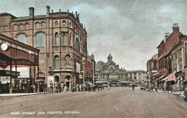 View of Her Majestys and The Grand Theatre