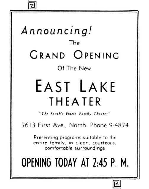 East Lake Theater