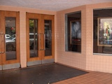 Mack Theater Front Doors