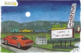 Drawing Of Scott Drive-In As It Looked In 1977...