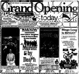 <p>August 20th, 1976 grand opening ad</p>