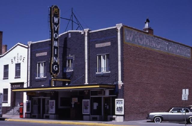 Wyoming Theater - Torrington | les coulisses de lAmérique