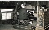 Frank Hare at the Rialto Compton organ