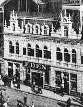 Eden variety theatre Hamburg