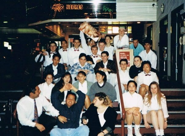 Staff meeting March 1993