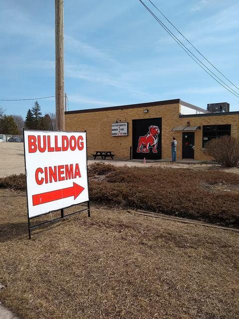 April 2019 photo credit Bulldog Cinema Facebook page.