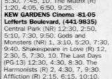 Kew Gardens Cinemas