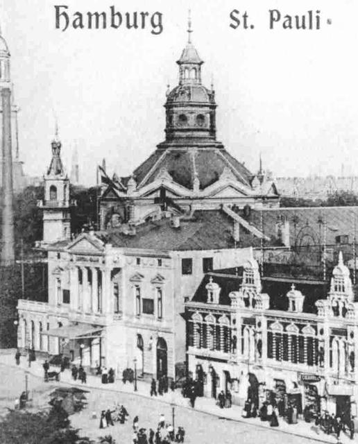Operettenhaus St.Pauli Spielbudenplatz Hamburg