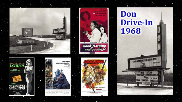 A 1968 Evening at The Don Drive-In
