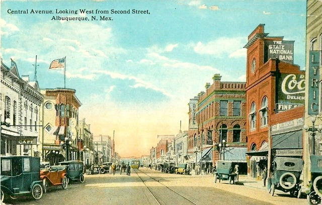 1918 postcard courtesy Route 66 Postcards.