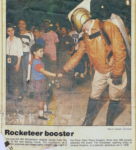 The Rocketeer at the Cineplex Odeon River Oaks Plaza (1991)