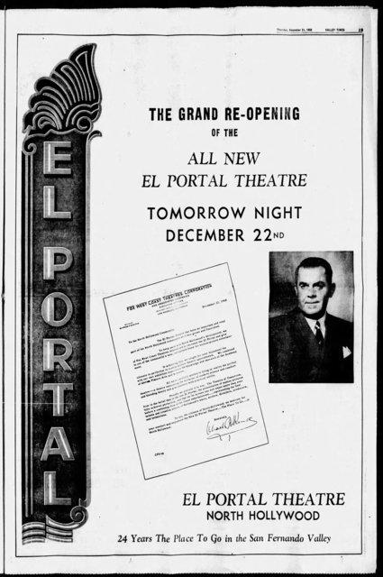 El Portal Theatre