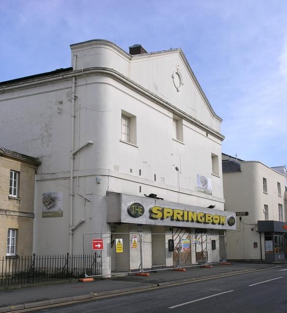 The former Coliseum Cinema