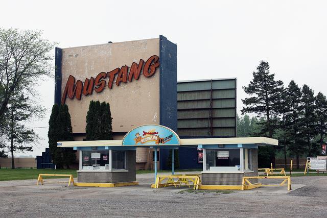 Mustang Drive-In, London, Ontario, Canada