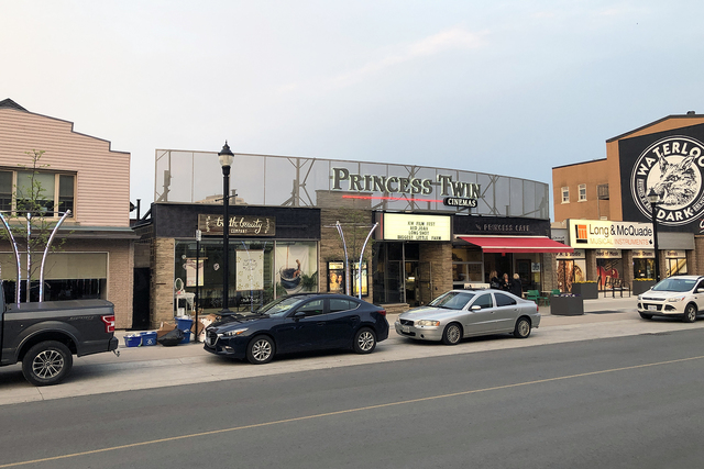 Princess Twin Cinemas, Waterloo, Ontario, Canada
