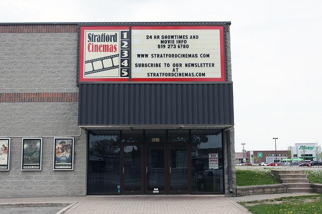 Stratford Cinemas, Stratford, Ontario, Canada