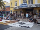 Lake Worth Playhouse with Street Painting Festival and Stonzek Studio Theatre