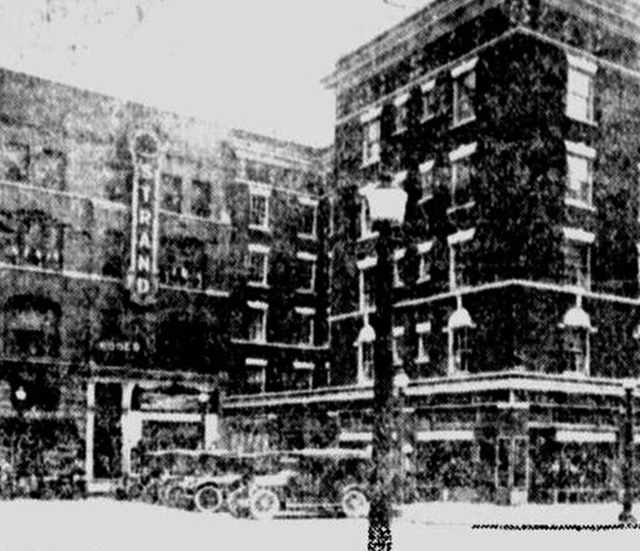 Grand opening view in 1916.
