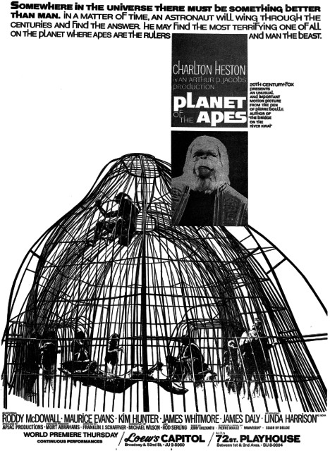 PLANET OF THE THE APES