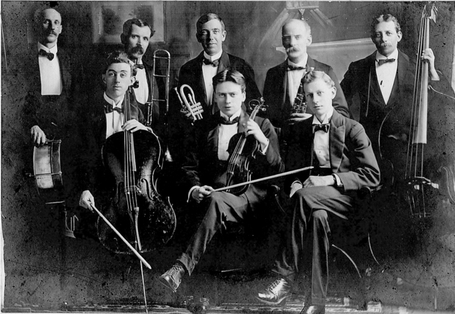 Variety Theatre 'Orchestra' circa 1920