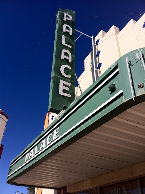 Marfa Downtown Theatre -- Palace