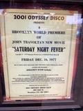 Saturday night fever premiere  12/16/1977