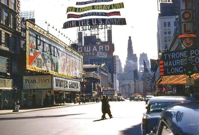 1955 photo via J.J. Sedelmaier.