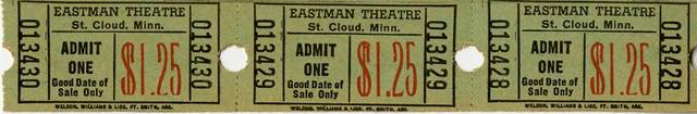 Tickets image credit & courtesy Stearns History Museum, St. Cloud MN.