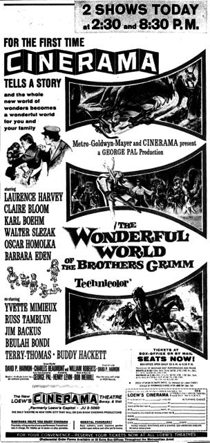 WONDERFUL WORLD OF THE BROTHERS GRIMM