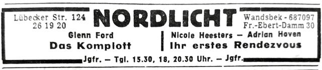 Nordlicht Filmtheater Wandsbek