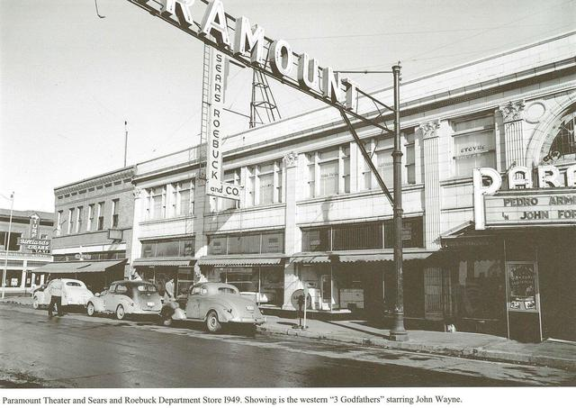 1949 as the Paramount, source unknown.
