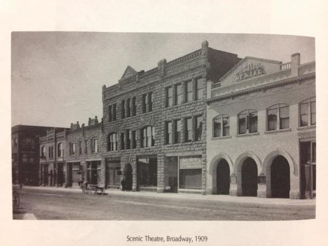 1909 postcard courtesy Bruce Longmore.