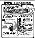 """[""""B-A-C Fairview Twin Cinema""""]"""