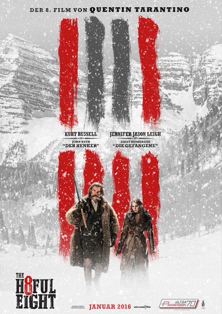 The Hateful 8 the Ultra Panavision 70 mm presentation at Zoo Palast Berlin