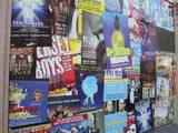 Posters  Shine On Side Of Former Cinerama Golden Gate Theatre SF