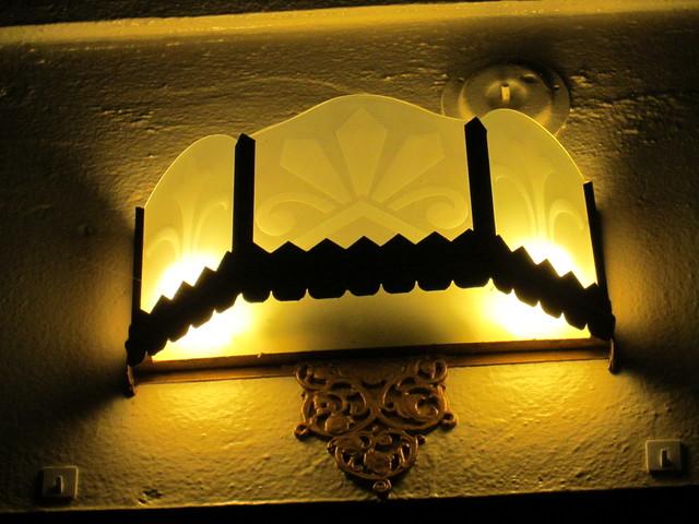 Deco Lights Lobby Balboa Theatre SF