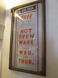 Lobby Balboa Theatre SF CA Signs