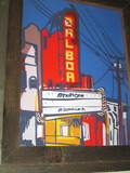 Art On Wall Lobby Balboa Theatre San Francisco CA