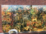 Biograph lobby mural now on display at AFI Silver Theatre and Cultural Center in Silver Spring Maryland.