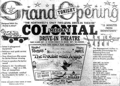 Cinema Treasures Grand Opening Ad