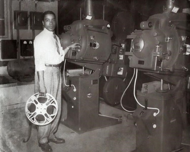 First Black Film Projectionist at Lincoln Theatre