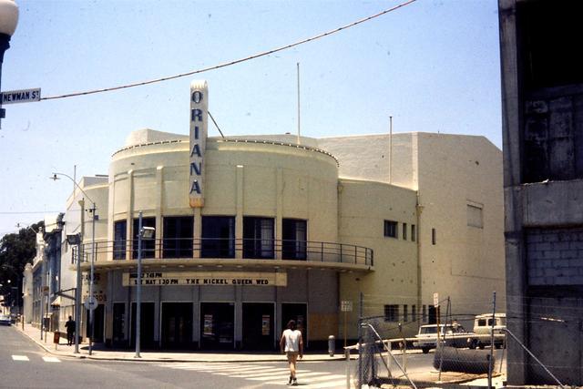 Oriana Theatre  177 High Street, Fremantle, WA   -  Final Screening
