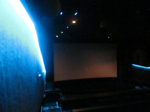 Dolby Cinema® AMC Bay Street Theatre Blue Lights