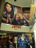 Right Side Entrance AMC Bay Street Movie Art