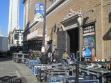 Fox Warfield Stage Load In