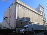 Stage Truck Parked Fox Warfield San Francisco CA Stage Door