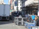 Stage Equipment Being Loaded Fox Warfield SF CA