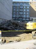 Heavy Thick Cement Left Former Regal Theatre  Nov 6 2019
