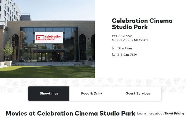 Celebration! Cinema Studio Park